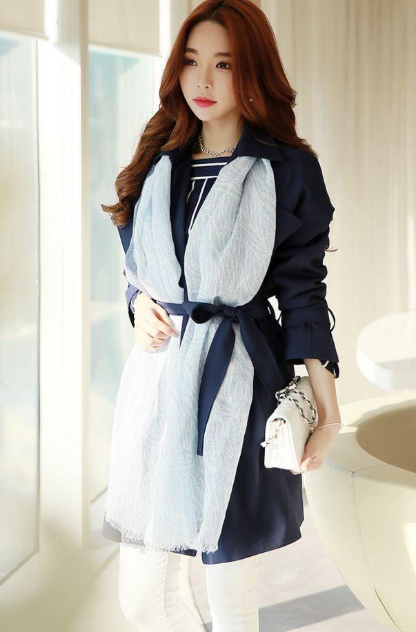 StyleOnme_No. 35697 #muffler #scarf #feminine #pasteltone