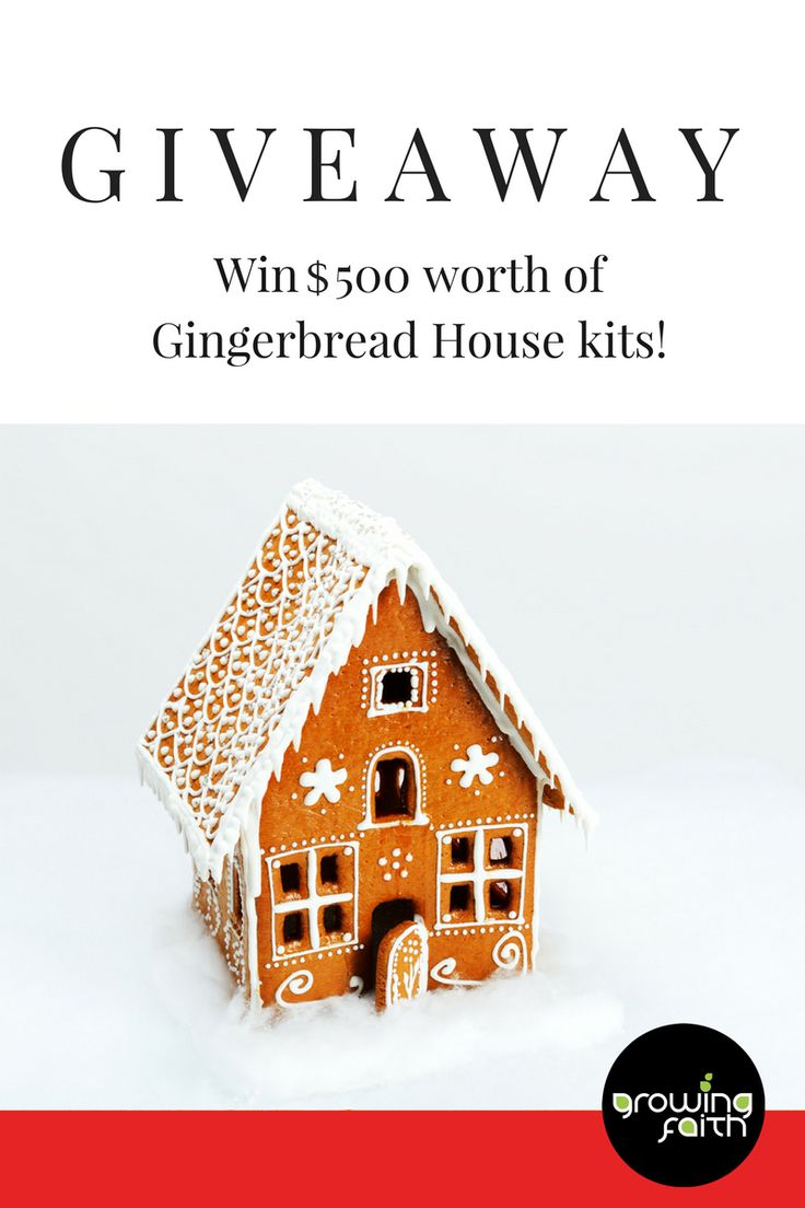 For the chance to win $500 worth of free gingerbread house kits this Christmas enter our giveaway! These are ideal for Christmas outreach at your church. https://www.rafflecopter.com/rafl/display/52372fd91/?