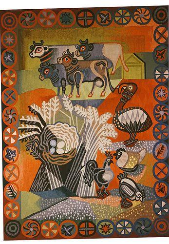 Edward Bawden Farmyard (tapestry) 1950