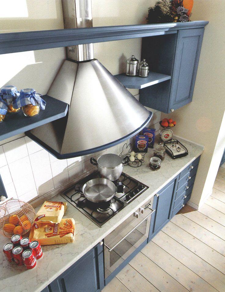 17 migliori idee su cucine colore azzurro su pinterest for Cucina azzurra