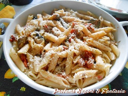Pasta alla norma gratinata Blog Profumi Sapori & Fantasia