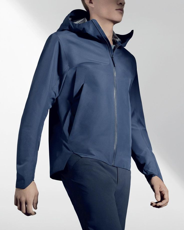 The Arris. Full weather protection in a supple Gore-Tex 3L C-Knit fabric. #Arcteryx #veilance