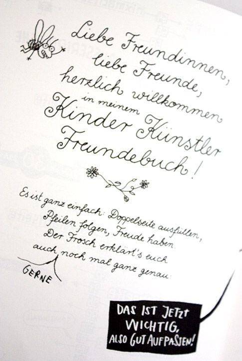 philuko: Kinder Künstler Freundebuch