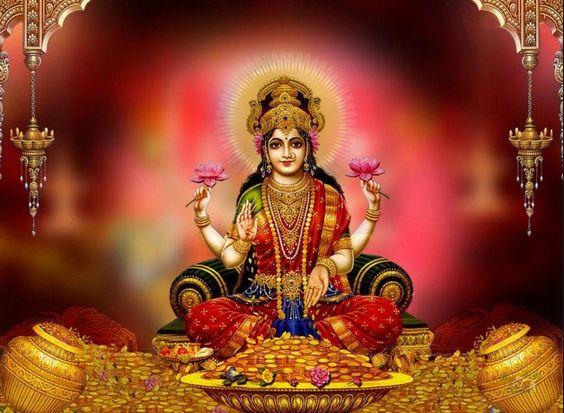 Lakshmi Gayatri Mantra : Om Mahalakshmyai cha vidmahe Vishnu patnyai cha dhimahi Tanno Lakshmihi prachodayat