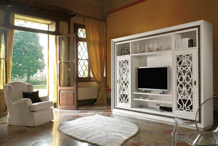 Шкаф для ТВ ‹ Белый Лес http://white-forest.ru