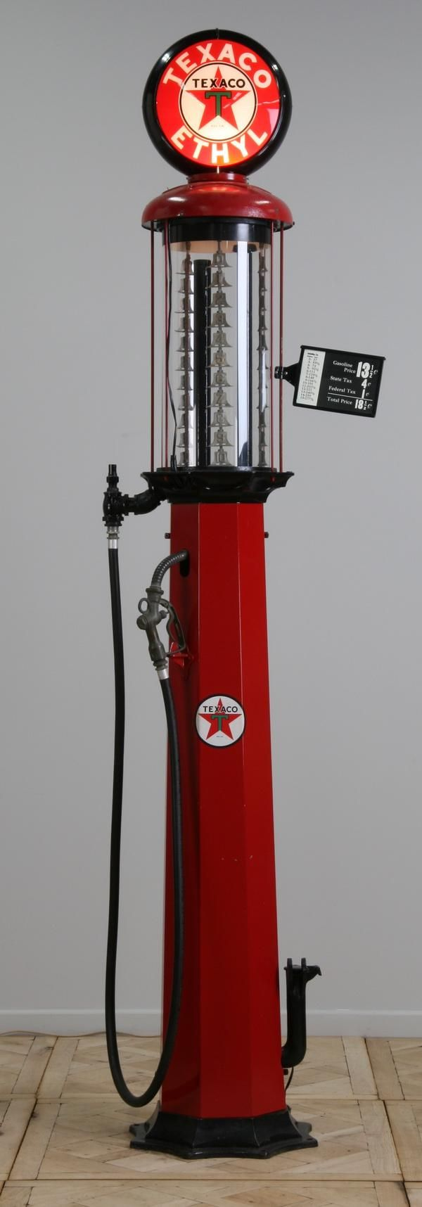 vintage+gas+pumps | Rare vintage American gas pump by American Oil Pump and Tank Company ...