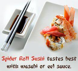 Spider roll sushi recipe