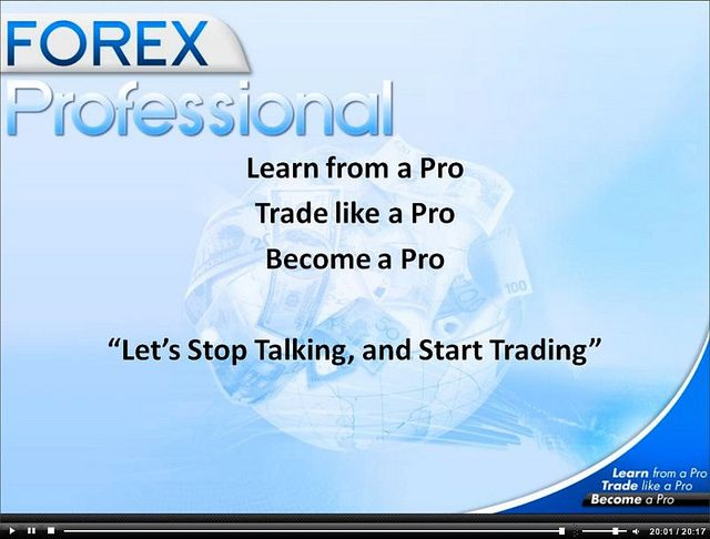 How professional forex traders trade