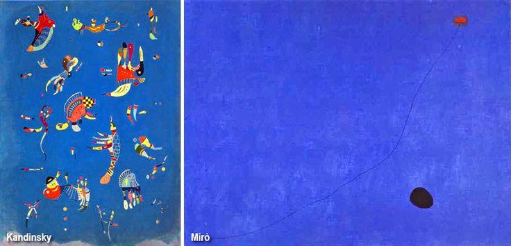 """Blu reale. È noto pure come """"azzurro Francia"""" anche perché è il colore nazionale dell'automobilismo per questo paese. È una tinta molto in uso presso artisti delle avanguardie come Kandinsky e Mirò."""