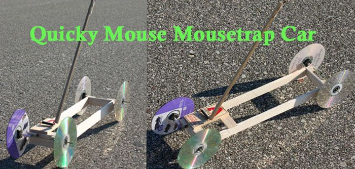 how to build a mousetrap car step by step directions