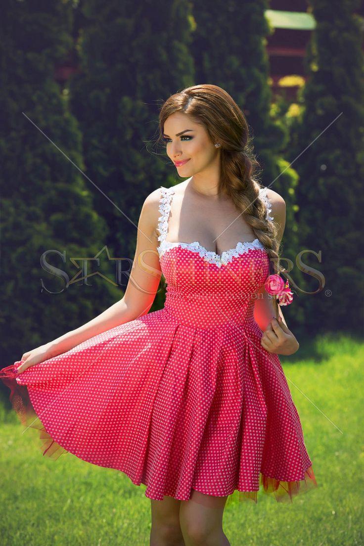 Artista Great Look Red Dress