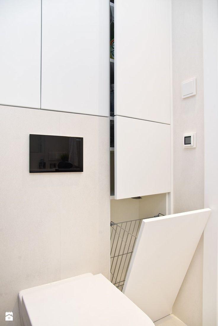 AURA - GDAŃSK CENTRUM - Mała łazienka, styl nowoczesny - zdjęcie od Luk Studio Pracownia Projektowa