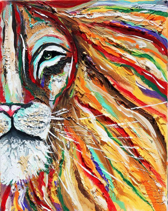 textured, iron lion, lion art, rasta, reggae, bob marley,africa,african, bob marley lion, colorful, vibrant, 3d, wall art, home decor, gifts, graduation, hippie, tara richelle, tarasarthouse, taras art house