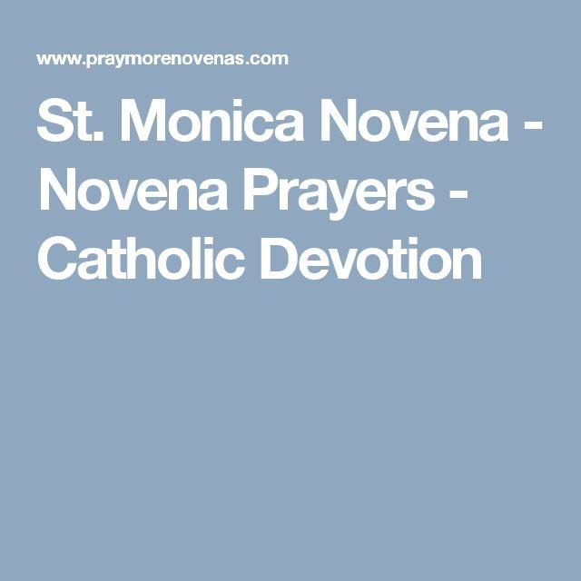 St. Monica Novena - Novena Prayers - Catholic Devotion