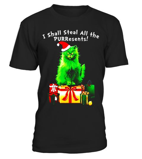 """# Steal All The PURResents Cat Christmas Holiday Funny T-Shirt .  Special Offer, not available in shops      Comes in a variety of styles and colours      Buy yours now before it is too late!      Secured payment via Visa / Mastercard / Amex / PayPal      How to place an order            Choose the model from the drop-down menu      Click on """"Buy it now""""      Choose the size and the quantity      Add your delivery address and bank details      And that's it!      Tags: This funny green cat…"""