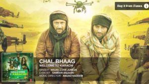 Chal Bhaag Lyrics Welcome to Karachi HD Video