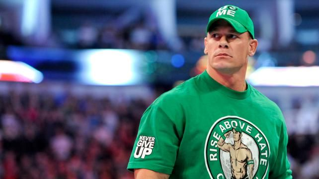 John Cena Monday Night Raw 4/16/12