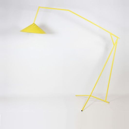 Max Lipsey Accaio lamp, from Matter