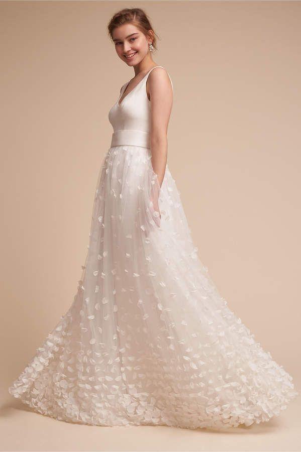 Mimi Gown Gowns Wedding Dresses Bhldn Wedding Dress White
