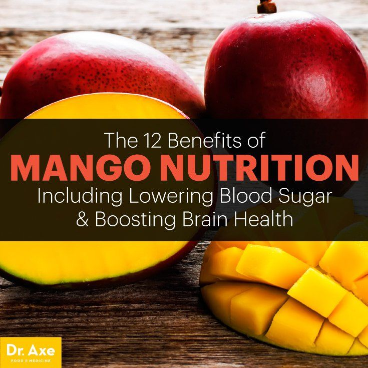 Mango Nutrition: Helps Lower Blood Sugar and Boost Brain Health - Dr. Axe