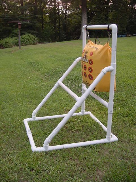 target stand for bow bag - Google Search