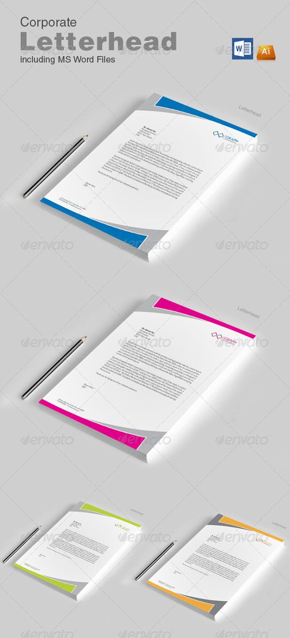 107 best Letterhead Pad Office Documents images on Pinterest - stationery for word documents