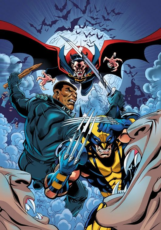 Blade and Wolverine vs Dracula