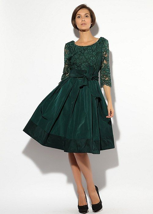 Платье с пышной юбкой Valentino (86088) - Интернет-магазин Z95