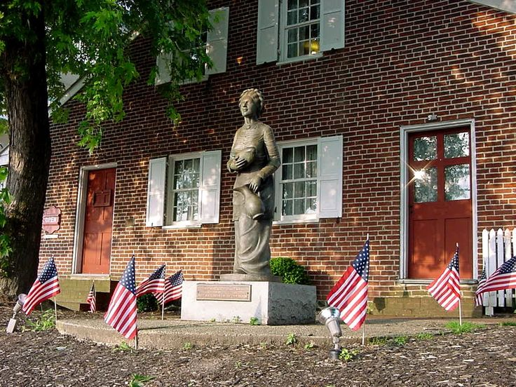 "Visit the Jennie Wade House in Gettysburg to learn the story of 20-year-old Jennie Wade, fiancée to Corporal ""Jack"" Skelly, and the only civilian casualty during the Battle of #Gettysburg. You'll get a first-hand look at the kitchen door still peppered full of bullet holes."