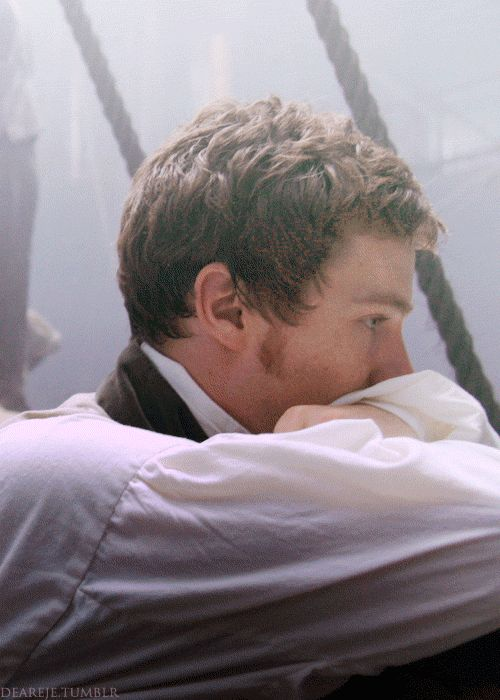 Benedict Cumberbatch as Edmund Talbot in To the Ends of the Earth