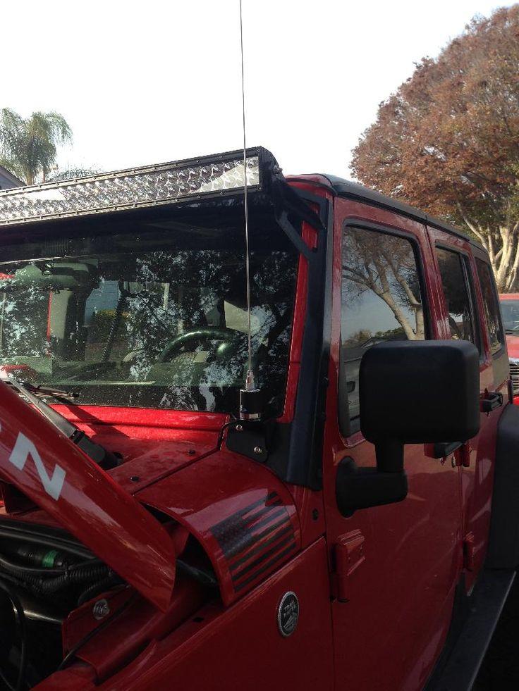 HAM/CB Antenna Mounting on JKU - What works? - Jeep Wrangler Forum