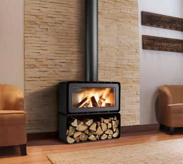 Xen Design Fireplaces - Xen Design Freestanding Designer Stoves - XD Modular RS850 EcoView