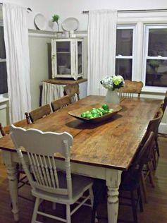 Magnolia Homes Farmhouse Tables Google Search