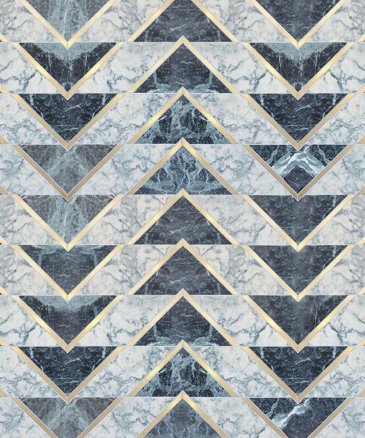 Chevron triangle details - this would make a stunning floor design.