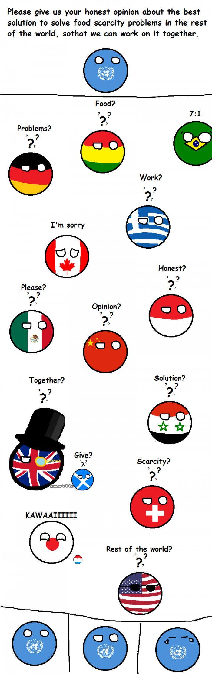 Poor UN (Canada, Poland, China, Syria, USA, UK, Scotland, Japan, Switzerland, Greece, Germany, Mexico, Luxembourg, Bolivia, Brazil, UN)