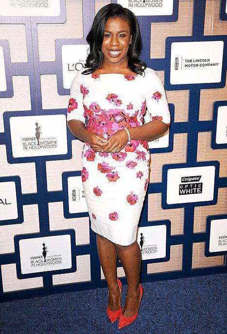 Uzo Aduba Wears the Same Floral Dress as Kate Middleton, Mindy Kaling - Us Weekly