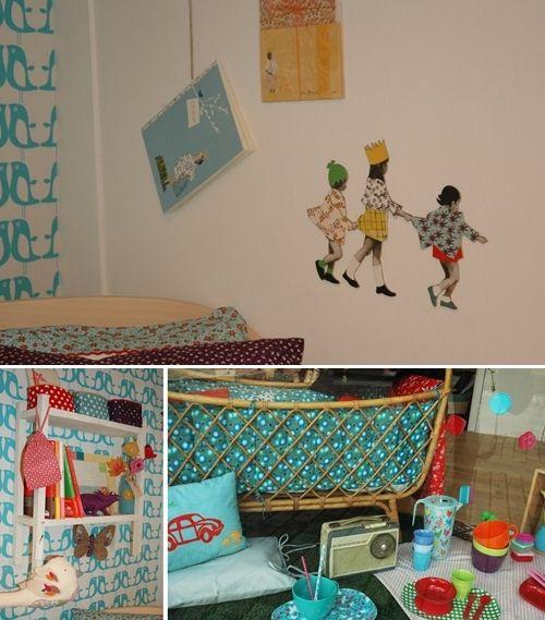 habitaci n infantil de bepop et lula habitaci n infantil infantiles y dormitorios para ni as. Black Bedroom Furniture Sets. Home Design Ideas