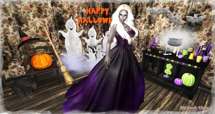 https://flic.kr/p/MFdb91   Michaela - Halloween 2016 - Scene 1   Halloween 2016 - Scene 1  Location: Vixen's Creative Studios Photographer & Model: Michaela Vixen (VampBait69) Set Design & Creation: Michaela Vixen (VampBait69)  Vixen's Log - More Info & Credits Here