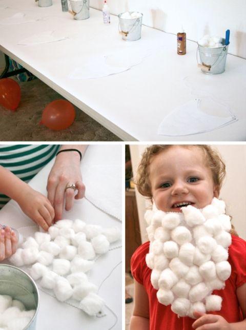 Snow White Party Craft Seven Dwarf Beard #SnowWhite #PartyGames