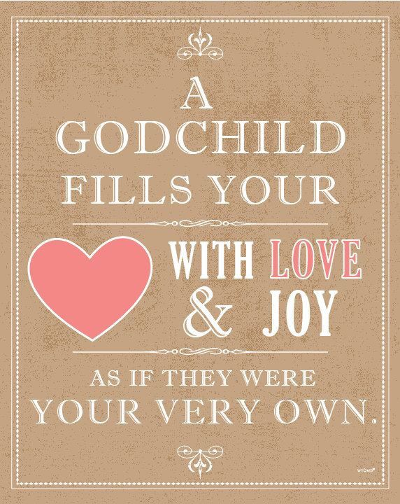 Love for your godchild