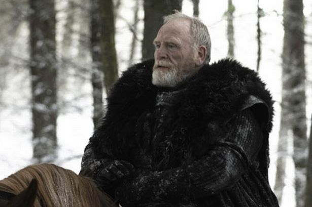 James Cosmo is a prolific Scottish actor, who  plays Jeor Mormont in Games of Thrones. James has performed in film and television productions since the late 1960s. Wikipedia  Born: May 24, 1948 (age 64), Clydebank. He was of course in Braveheart and Highlander to name a few.