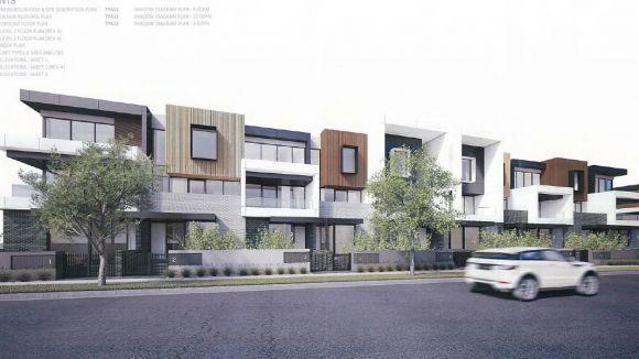 30 Rosamond Road, Maribyrnong. Image courtesy Taouk Architects