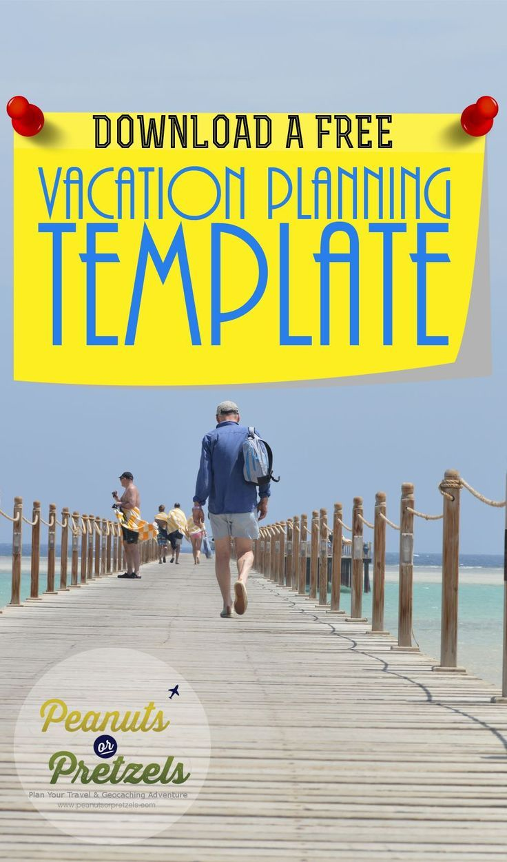Download your FREE Vacation Planning Template by clicking through. Designed by Peanuts or Pretzels who have years of vacation planning experience. This Vacation Planning template will make it easy for you to plan your own vacation. | Peanuts or Pretzels Travel
