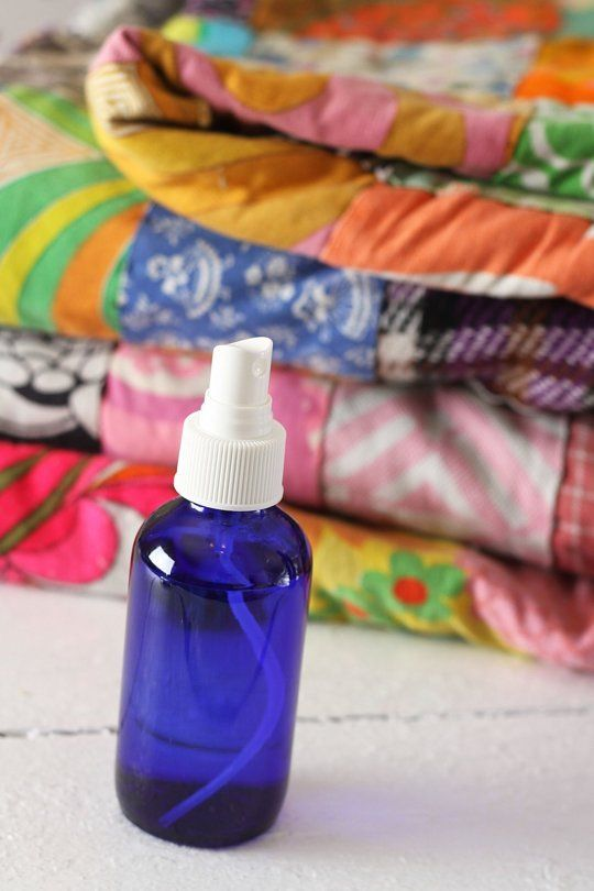 How To Make Linen Spray — Apartment Therapy Tutorials