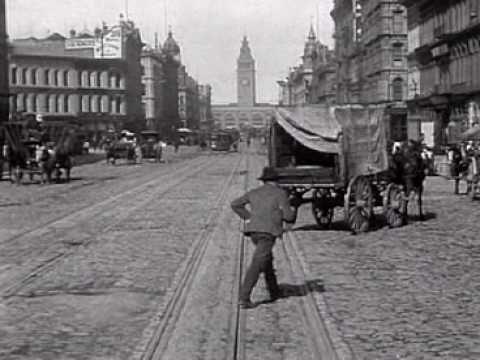 San Francisco trolley 1905