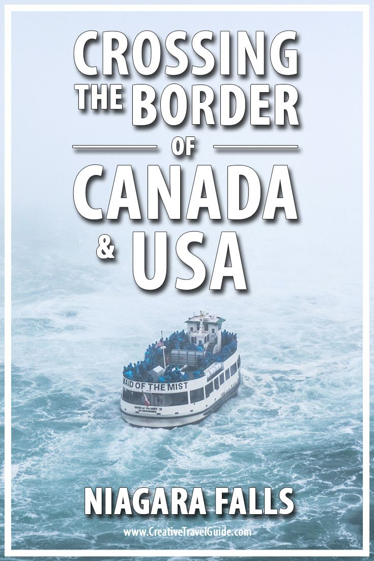 Crossing The Border of Canada & USA – Pin This!