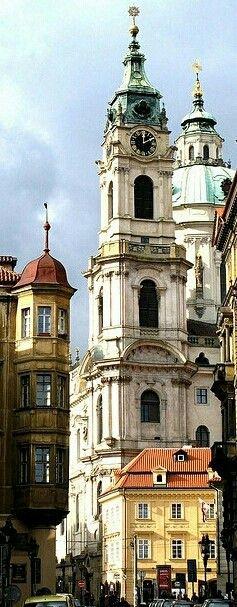 Church of St. Nicholas, Lesser Town, Prague, Czechia #Prague #baroque #Czechia