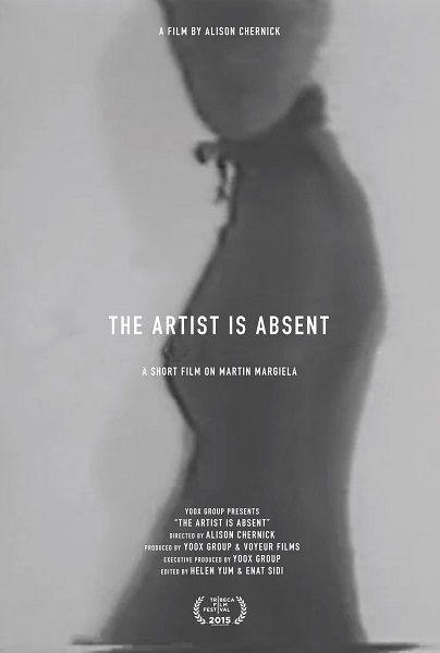 マルタン・マルジェラの短編ドキュメンタリー映画「ザ・アート・イズ・アブセント」が2015年トライベッカ映画祭で上映された。アリソン・チャーニックが監督を務め、ユークス・グループが製作した。  10分強の映像の中には、彼がアントワープ王立芸...