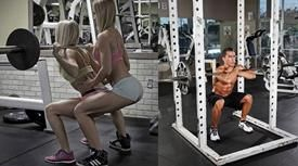 Back Squats vs. Front Squats - was ist effektiver? - Muskelaufbau