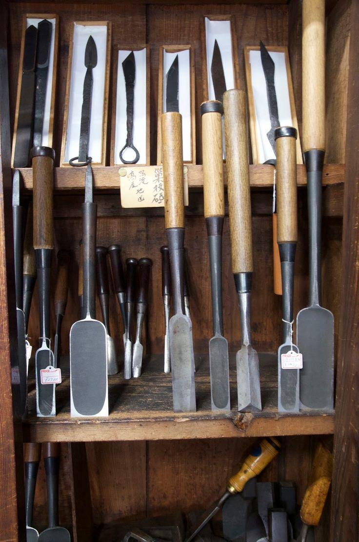 Inoue san's tools shop